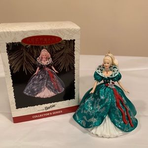 Hallmark Ornament Holiday Barbie ~ NIB 1995